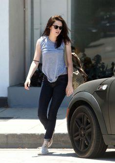 Kristen's  casual look