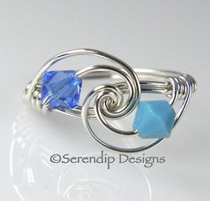 Mothers Ring Grandmothers Birthstone Ring by SerendipDesignsJewel, $26.00