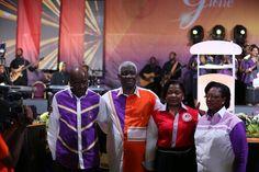 Mon épouse et moi, avec le couple pastoral  Karambiri Mamadou et Hortense, des repères pour le Corps de Christ.