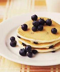 Aunt Betty's Blueberry Pancakes - dialysis friendly recipe