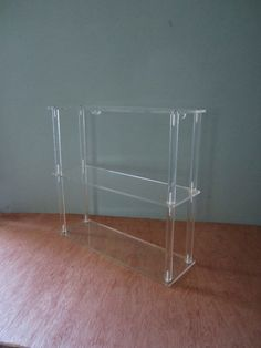 Mid Century Lucite Shelf by lmlois on Etsy, $65.00