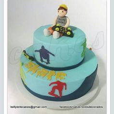 Cake Skate - para os meninos mais radicais