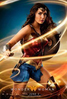Mulher-Maravilha - Novo poster e fotos mostram a heroína usando o Laço da Verdade! - Legião dos Heróis