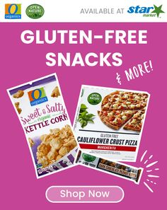 Discover wholesome snacking options from our exclusive Open Nature® and O Organics® product lines, including gluten-free options and more! Gluten Free Snacks, Quick Snacks, Parmesan Cheese Crisps, Low Fat Chocolate, Organic Snacks, Apple Sausage, Cauliflower Crust Pizza, Freundlich, Sweet And Salty