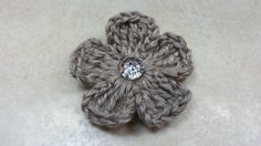 #Crochet Easy 5 Petal Flower #TUTORIAL on top again