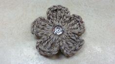 #Crochet Easy 5 Petal Flower #TUTORIAL on top again