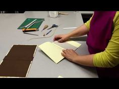 Tutorial - Cuaderno Bradel by Cartoné - YouTube
