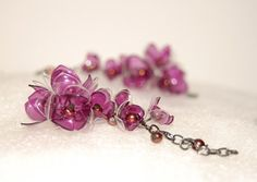 Náušnice z PET lahví - Kvítky s perličkama Bobby Pins, Hair Accessories, Stud Earrings, Beauty, Jewelry, Fashion, Flowers, Moda, Jewels