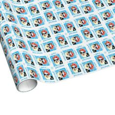 Happy Howliday Welsh Corgi Gift Wrap Paper