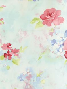 ABBY ROSE 3 Galerie Wallpaper AB27662 #watercolour #pretty #flower