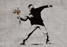 banksy el lanzador de flores - Buscar con Google