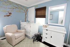 Inspiratie voor een babykamer met thema bos nodig?