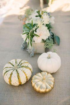 fall pumpkin wedding reception ideas / http://www.himisspuff.com/fall-pumpkins-wedding-decor-ideas/8/