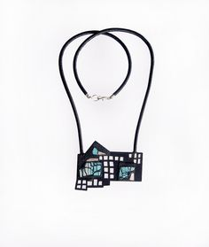 Necklace contemporary jewelry design FREE Shipping by DecoUno
