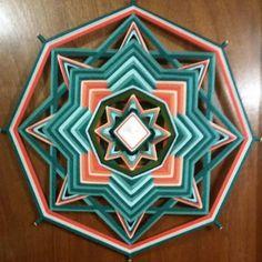 Mandala de la gloria 24 pulgadas por OjodeDiosbyTLC en Etsy