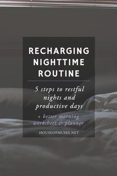 You guys, this post has been a long time coming. After seeing the popularity of our Motivating Morning Routine Post day after day (it's our second most popular post ever), I thought it was finally time to make the Morning Routine a mate. I'm a firm believer that what you do just before you sleep, …