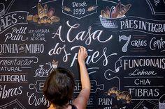 follow the colours ilustração tipografia handlettering Cyla Costa casa dos pães