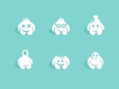Dribbble - Little Fellas by George Bokhua
