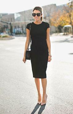 CLÁSSICO. O vestido preto é conhecido como clássico no guarda-roupas feminino.Ele ganhou esse status nas maos de Chanel.
