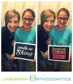 Fun With Meadow!  - Congrats on getting your braces swag on! #LineberryOrtho