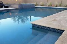 pool line pattern - Google Search... can part of a pool be tiled - such as areas above the water line, and perhaps a lane marker on the base? and the rest in a coloured concrete finish, to save costs?