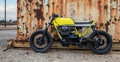 Moto Guzzi has kicked off its 'Pro Build' custom program with a fat-tired V9 built by Untitled Motorcycles. But what color exactly is that paint?
