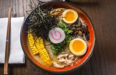 From Austin to L. and beyond, for intense tonkotsu or modern mazeman, the best ramen in America for true lovers of the Japanese soup-and-noodle favorite Calories In Ramen Noodles, Ramen Noodles Nutrition, Best Ramen Noodles, Ramen Noodle Recipes, Ramen Restaurant, Traditional Ramen, Japanese Soup, Toast, Ramen Bowl