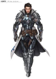 Wolf armor, Wu Kim on ArtStation at https://www.artstation.com/artwork/41kO1