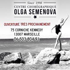 Une deuxième adresse à Marseille pour le Centre Chorégraphique Olga Semenova. www.ecolededanse-semenova.com
