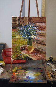 Олег Буйко Rose Oil Painting, Flower Painting Canvas, Buddha Painting, Painting & Drawing, Canvas Art, Amazing Paintings, Detail Art, Colorful Drawings, Art Background
