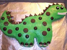 Oh, you mean a dino cake I might actually be able to pull off?