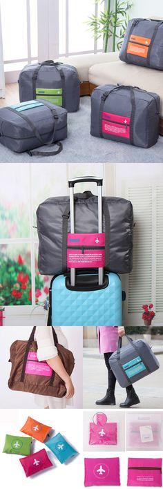 Travel Storage Bag, Folding Duffel Bag ,Oxford Cloth Waterproof Travel Handbag