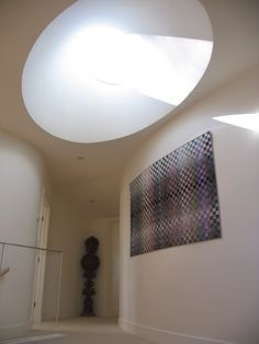 Oval Skylight With Oculus by Michael McCloskey Design Group