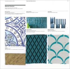 Trend Bible Home and Interior Trends - S/S 2016