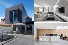 Australian architecture firm Architecton, have designed a new contemporary rear extension to a heritage home in Melbourne.