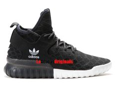 Adidas Originals Tubular X Primeknit - Chaussure Basket Pas Cher Pour Homme/Femme Noir/Blanc B25591-Boutique Adidas Originals de Running (FR) - LaAdidasOriginals.fr