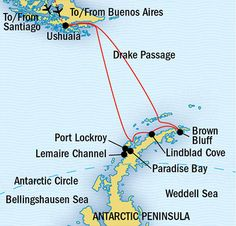 Journey to Antarctica, Exploring Antarctica - Lindblad Expeditions