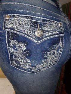 3fd78ee07a6 WallFlower Women s Plus-Size Luscious Curvy Bling Bootcut Jeans  59 NEW   WallFlowerJeans  Bootcut