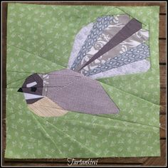 Paper Pieced Fantail Pattern Available Now