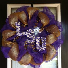 LSU wreath!!!!