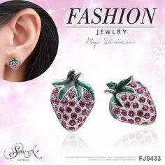 Fashion Jewellery - Strawberry