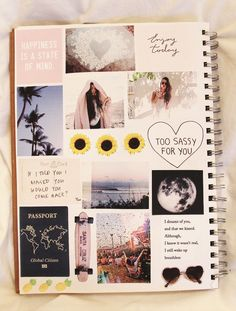 30 Wonderful Photo of Polaroid Scrapbook Ideas Memories 30 Wonderful Photo of Polaroid Scrapbook Ideas Memories . Polaroid Scrapbook Ideas Memories I Like This Because It Has Sunflowers And Pineapples On It And Those Notebook Diy, Notebook Covers, Notebook Collage, Collage Collage, Album Journal, Scrapbook Journal, Scrapbook Cover, Tumblr Scrapbook, Diy Scrapbook