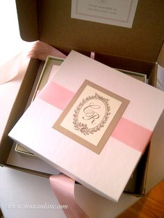 Featured Invitation Design: Reneé & Charles's Invitation Suite by NeatCards (3)
