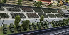 Model Trains Ho Scale, Model Train Layouts, Scale Models, Ninja Weapons, Military Diorama, Miniture Things, Military History, Detailed Image, Box Art