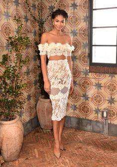 LOS ANGELES, CA - JANUARY 09: Chanel Iman attends W Magazine's It Girl luncheon in partnership with Coach and Moet & Chandon at A.O.C on January 9, 2016 in Los Angeles, California. (Photo by Stefanie Keenan/Getty Images for W Magazine)