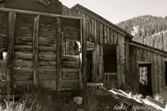 another pic by my favorite shutterbug Abandoned Mine Shack. Near Buena Visa, Colorado.