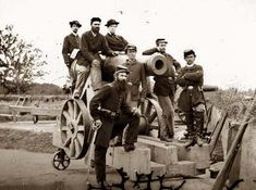 Washington, District of Columbia. Officers and men, 3d Regiment Massachusetts Heavy Artillery in Fort Totten