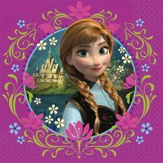 Frozen Lunch Napkins (16) Disney Princess Birthday Party Amscan http://www.amazon.com/dp/B00IX12DBC/ref=cm_sw_r_pi_dp_2UBNtb094PRD3YJP
