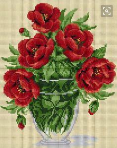 Cross stitch pattern Cross stitch printed by FabricCanvasPatterns Cross Stitch Love, Cross Stitch Borders, Cross Stitch Flowers, Cross Stitch Charts, Cross Stitch Designs, Cross Stitching, Cross Stitch Embroidery, Embroidery Patterns, Cross Stitch Patterns