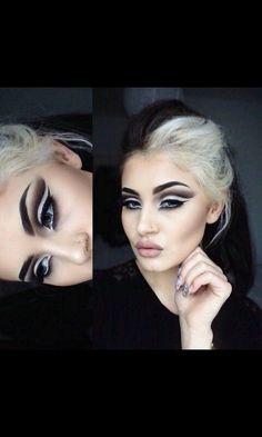 Disney villain makeup